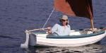 Keith taking Cub for a spin in Ria de Aldan